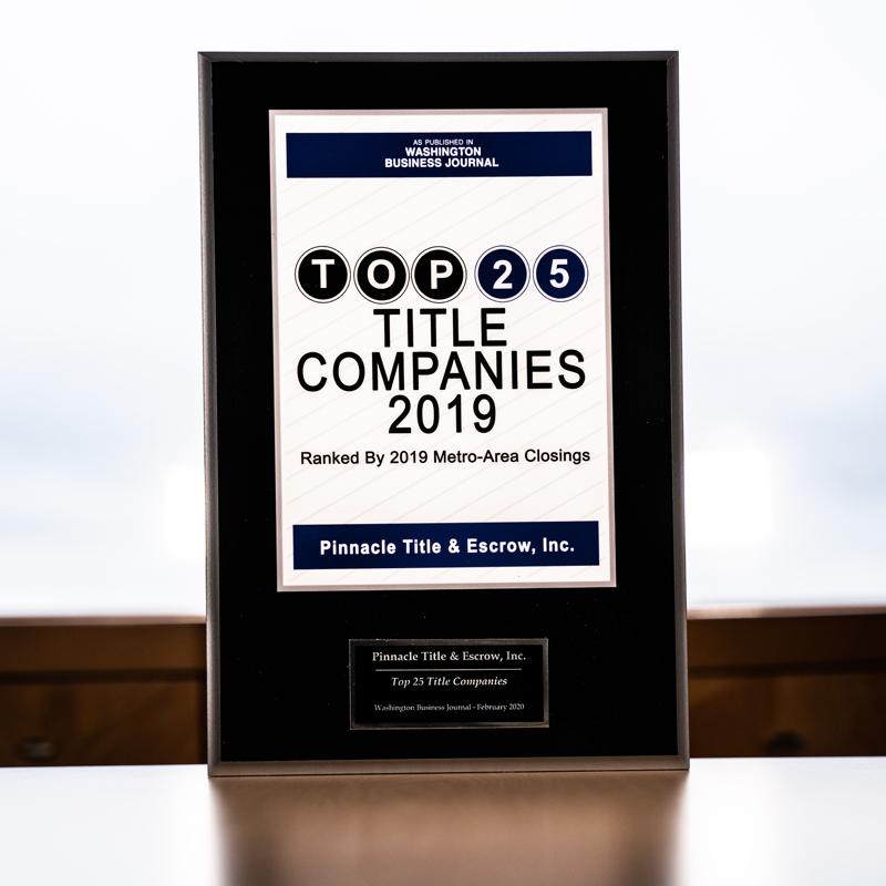 Awards Top 25 Companies